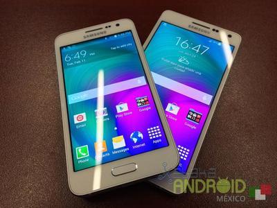 Samsung Galaxy A3 y A5, precio y disponibilidad con Telcel