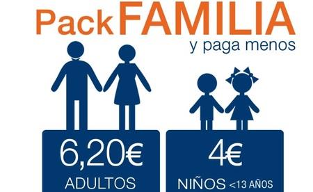 En Cinesa los niños menores de 13 años van al cine por 4 euros con el 'pack familia'