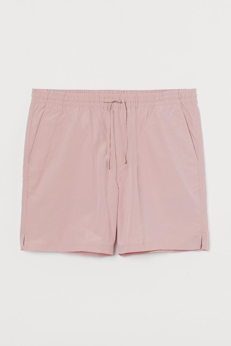 Bermuda resort en color rosa H&M X CHIMI