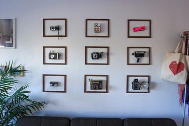 Enmarca objetos para decorar