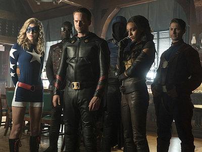 La Sociedad de la Justicia en 'Legends of tomorrow', la imagen de la semana