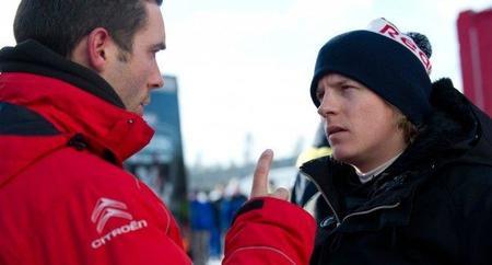 Kimi Raikkonen visitó las instalaciones de Williams