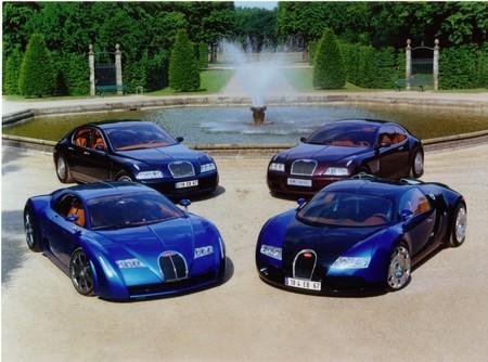 Bugatti Veyron Prototipos
