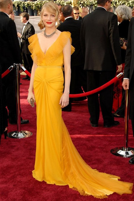 Michelle Williams Oscar 2006 Vera Wang