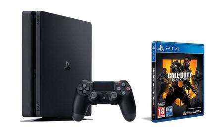 En PcComponentes te puedes hacer con la PS4 Slim de 500 GB con Black Ops 4 ahorrándote el precio del juego, por 299 euros
