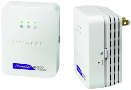 Netgear pone sus PLC a 500 Mbps