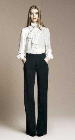 Zara Otoño-Invierno 2010/2011 blusa