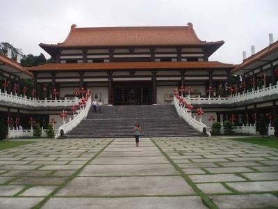 Un templo budista en ... Sao Paulo, Brasil