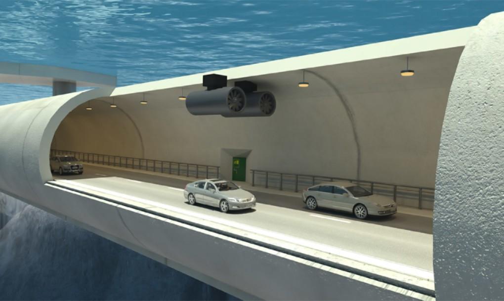 Un túnel submarino y flotante es la sorprendente propuesta para reducir tiempos de viaje