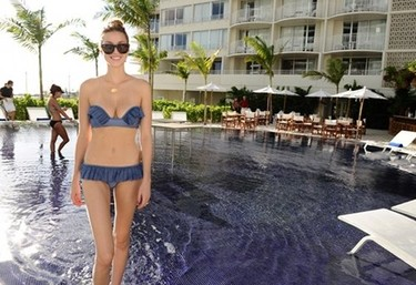 Whitney Port y sus bikinis