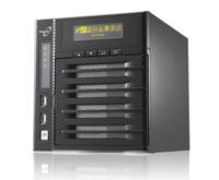 Thecus N4200, NAS de cuatro bahías, alta potencia y con pantalla táctil OLED
