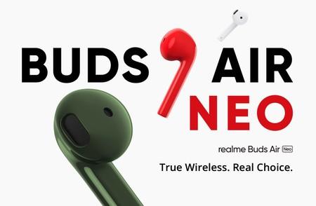 """Realme Buds Air Neo: nuevos auriculares inalámbricos con """"Súper baja latencia"""" y hasta 17 horas de reproducción"""