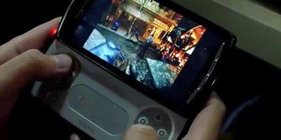 'Resident Evil 2' y  'Ridge Racer' en el PSP Phone. Vídeo