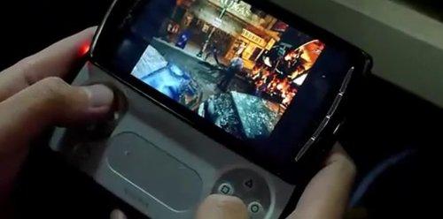 'ResidentEvil2'y'RidgeRacer'enelPSPPhone.Vídeo