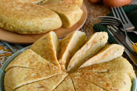 Tortilla de patata para dos (por si no sois de sobras)