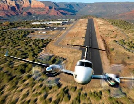 El nuevo King Air 350i de Hawker Beechcraft, jet privado