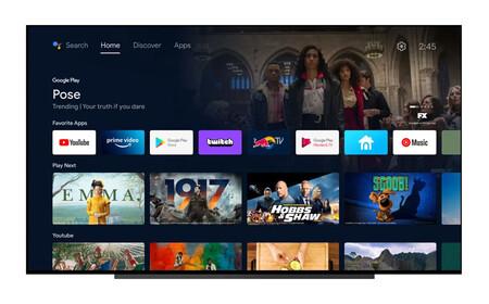 Android TV renueva su interfaz para parecerse a Google TV