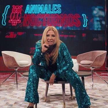 A Cristina Tárrega se le escapan los 'Animales nocturnos' de Telecinco: futuro incierto para este 'late night'