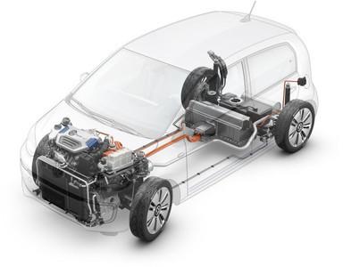 Volkswagen Twin-Up!, prototipo híbrido enchufable Diesel para ¡Tokio!