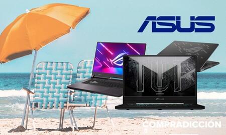 Con estos 5 portátiles gaming de ASUS podrás jugar este verano en cualquier lugar ahorrando algo de dinero en su compra