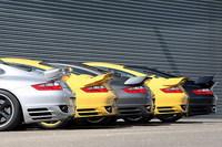 Cinco sabores distintos para el Porsche 911