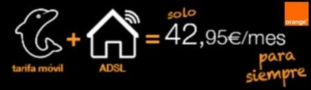 Todos los detalles del Combina y Ahorra de Orange por 42.95 euros: fusión sin subvención