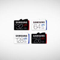 Samsung presenta las primeras tarjetas UFS, sucesoras de las microSD, de hasta 256 GB