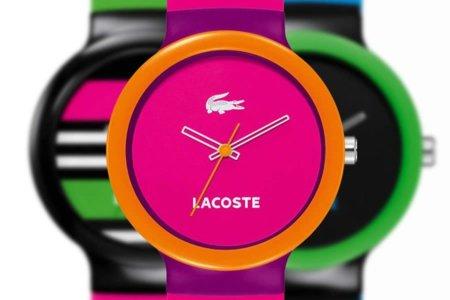 Relojes GOA de Lacoste: color en punto