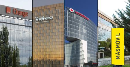 Los ingresos a la baja condicionarán el futuro de Movistar, Vodafone y Orange: 5G, low cost y fútbol en el punto de mira