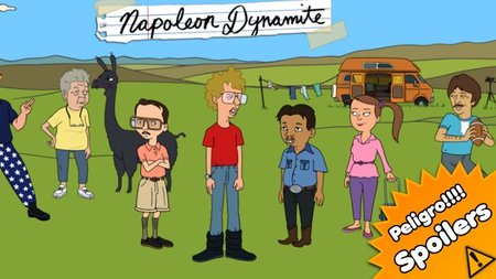 'Napoleon Dynamite', prometedora comedia de animación