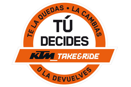 Logotipo Ktm Take Ride