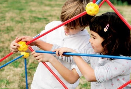 La propuesta de Imaginarium para realizar construcciones con los niños