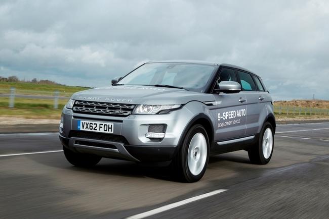 Land Rover Evoque con transmisión ZP 9HP