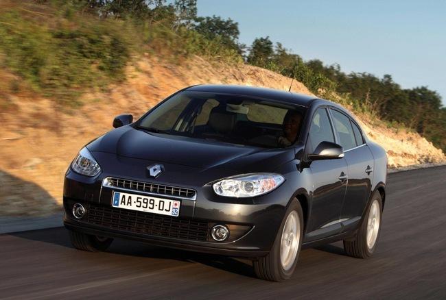 Renault Fluence negro