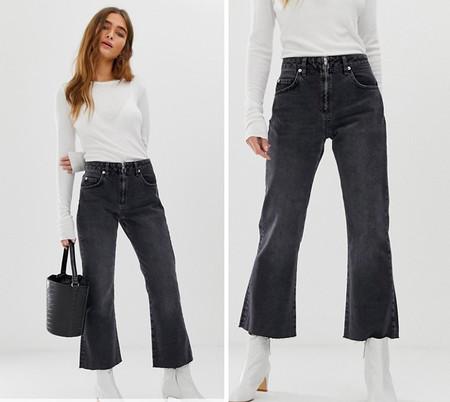 Jeans Gris Ideal