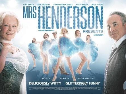 'Mrs Henderson Presenta', encantado, gracias
