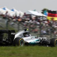 Rosberg, inalcanzable para Hamilton en un nuevo fracaso de McLaren en casa de Honda