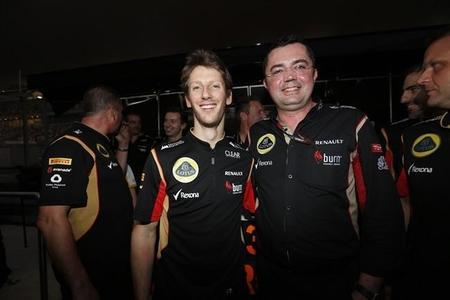 Eric Boullier admite que Romain Grosjean está a punto de ser confirmado para 2014
