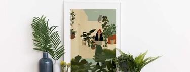 Las ilustraciones de esta artista son el perfecto reflejo de la generación millennial y su amor por las plantas