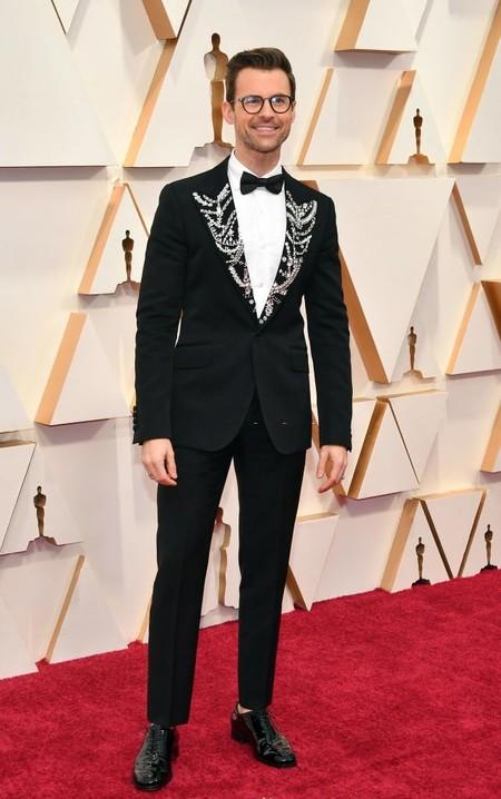 Brad Goreski Adopta El Drama En La Solapas De Su Look Para Los Premios Oscar
