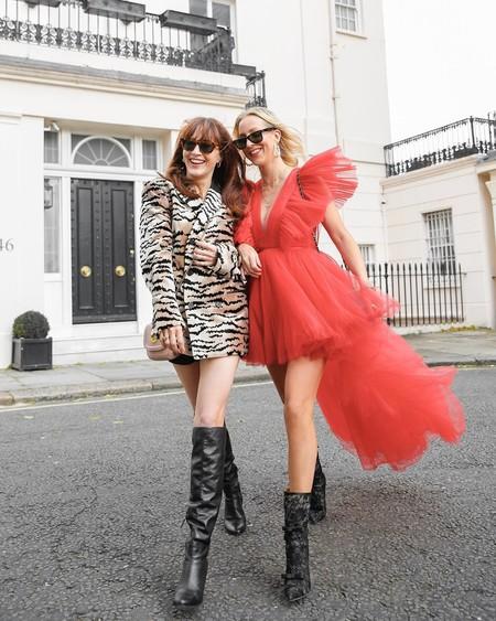 Giambattista Valli Hm Red Dress Tulle 06