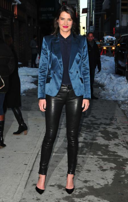 Cobie Smulders J Brand look