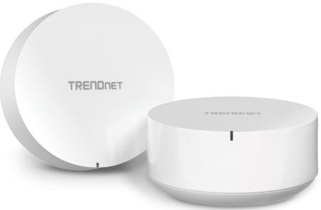 TRENDnet estrena el sistema de redes en malla TEW-830MDR2K, un  modelo que ofrece conectividad WiFi de hasta 2.200 Mbps
