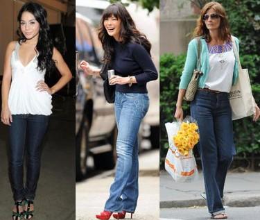 Estilo informal a cualquier edad: jeans a los 20, 30 y 40