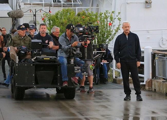 Clint Eastwood y Tom Hanks ruedan Sully