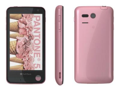 Sharp Pantone 5, un teléfono Android con sensor de radioactividad