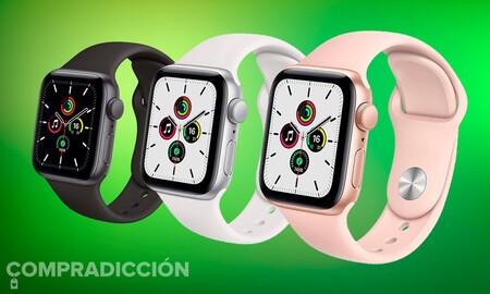 Ahórrate 20 euros estrenando el Apple Watch SE. Amazon te lo deja en 279 euros con envío gratis