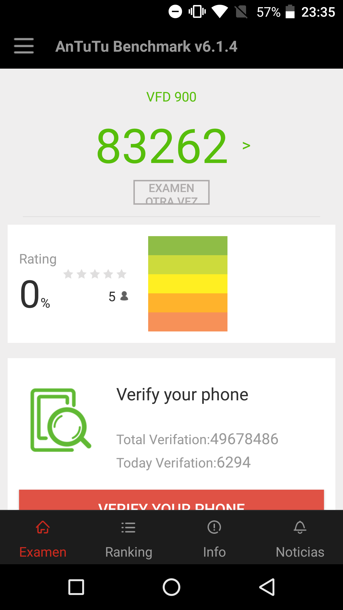 Foto de Benchmarks - Vodafone Smart Platinum 7 (1/6)