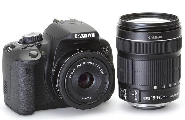 Canon 650D con Pancake 40mm