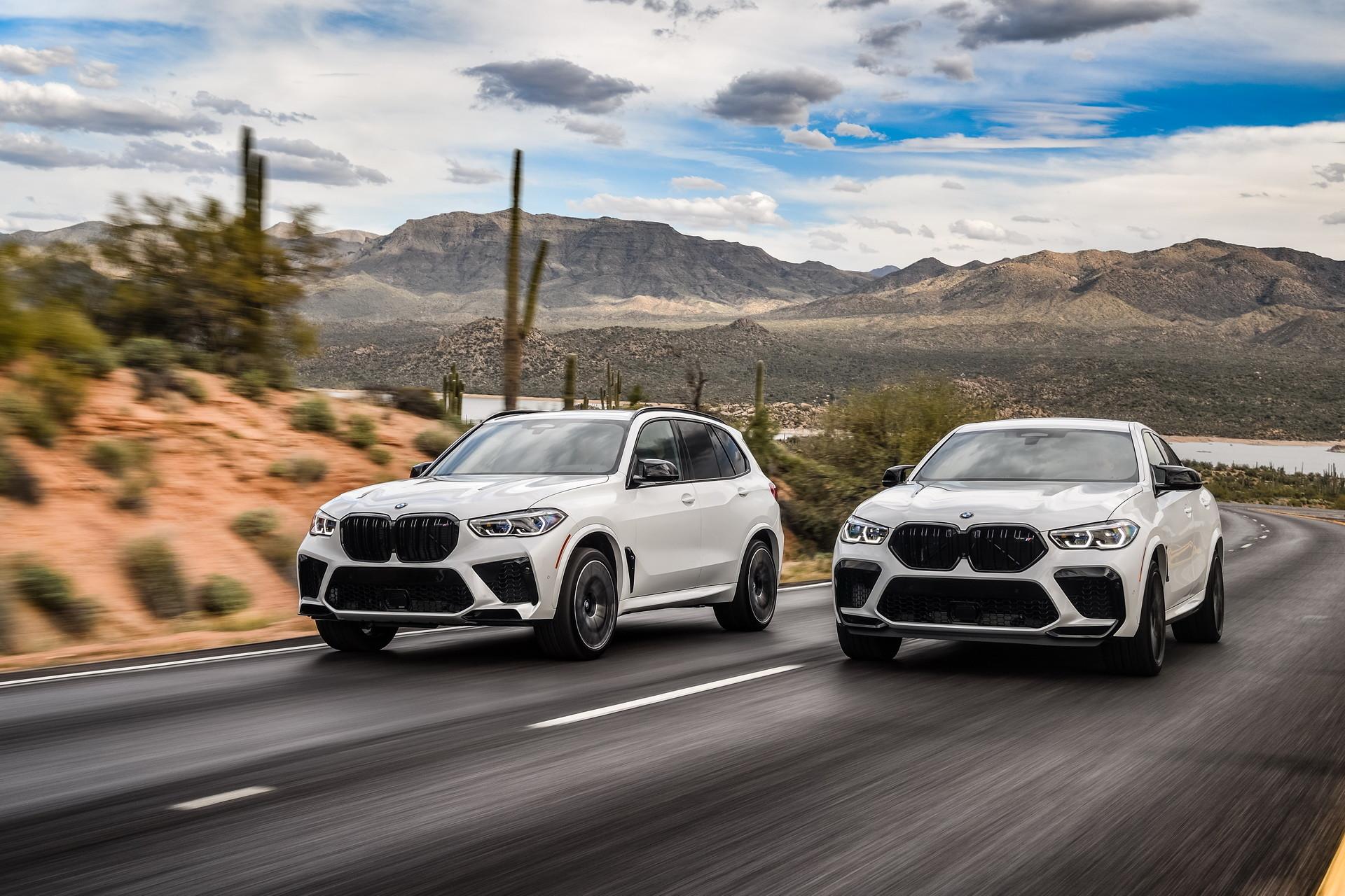 Foto de BMW X5 y X6 M Competition (1/31)